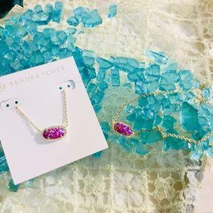 Kendra Scott Necklace & Earring Set!